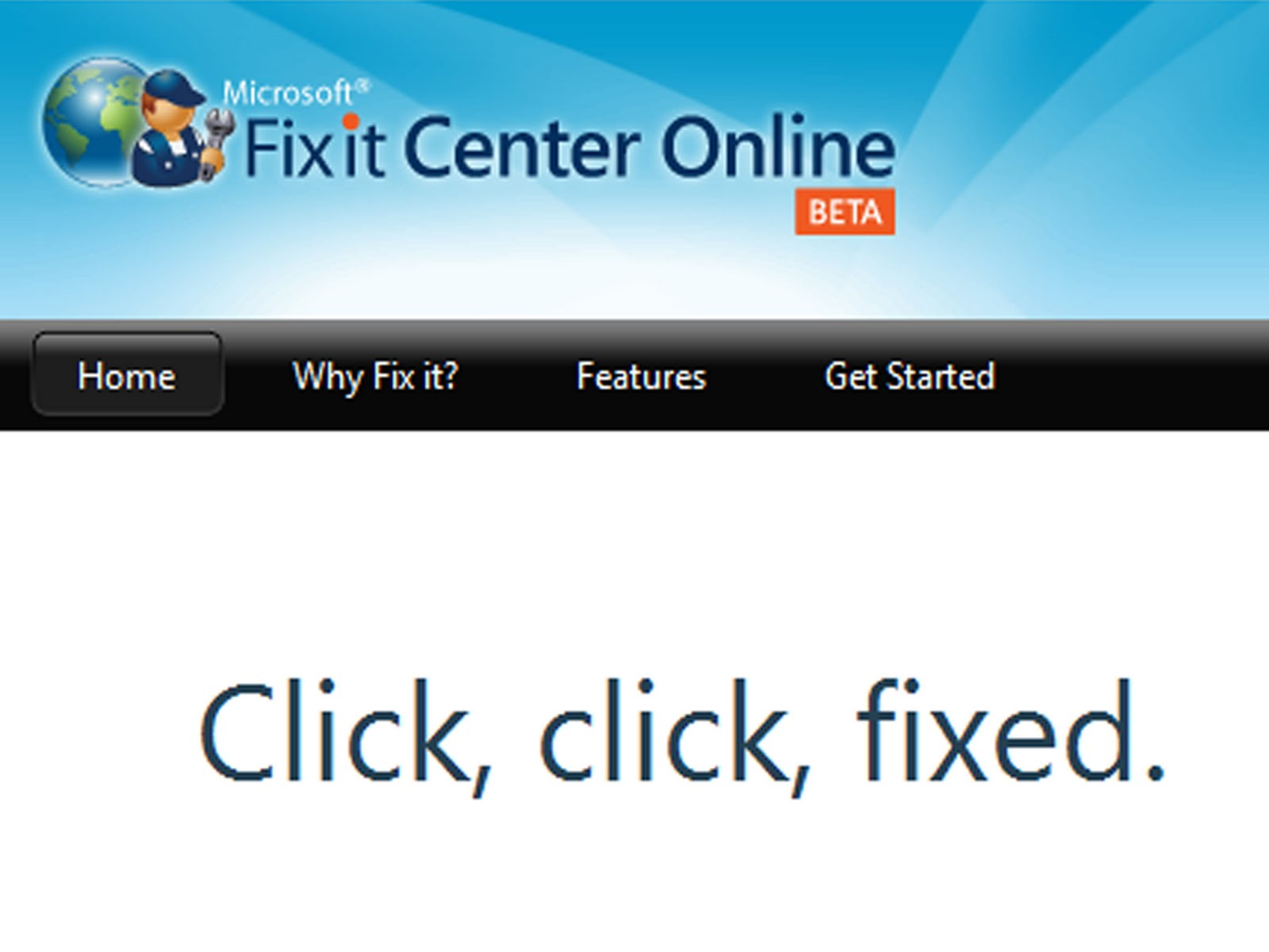 Microsoft Fix It Center | Wozza's World .. our man in Japan